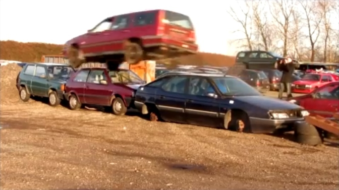 What does it take to kill a Volvo 850?