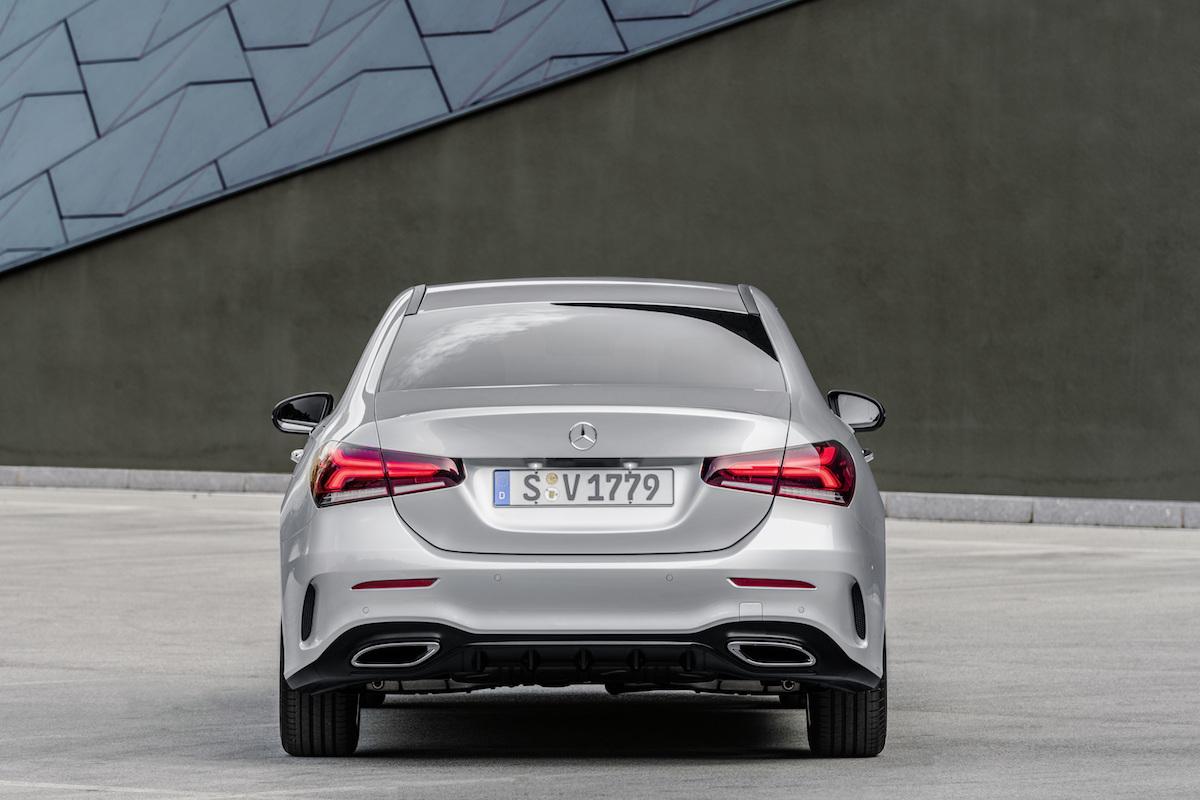 Mercedes A Klasse Berline 2018 Autofans
