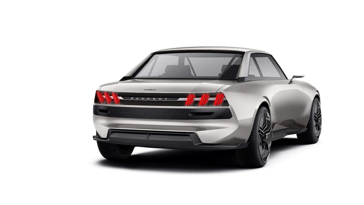 Peugeot E Legend Concept Autofans