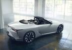 lexus lc convertible concept 2019 naias