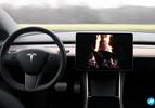 Tesla Model 3 stuur en scherm