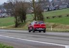 MG ZS EV Luxury rood (2020) rijdt