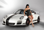 Magnat Porsche Girl Frontal