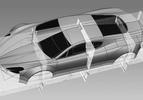 HBH aston martin supercar drawing 4