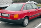Vergeten auto Audi 80 005