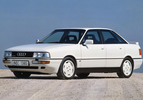 Vergeten auto Audi 90 009