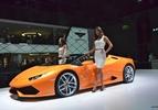 Lamborghini Huracan Spyder live IAA 2015