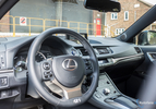 Lexus CT200h 2014 facelift hybrid hatchback