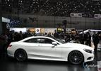 Live in Genève: Mercedes S-klasse coupé