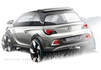 Opel Adam Rocks Concept Sketches