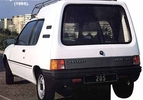 Peugeot 205 Multi (vergeten auto)