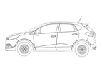 Renault Captur gelekt