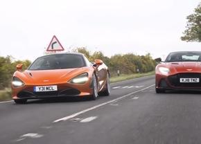 Aston Martin DBS Superleggera en McLaren 720S