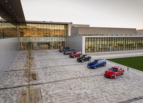 jaguar landrover production slovakia nitra 2018
