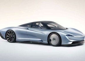 mclaren speedtail leaked