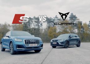 Audi SQ2 VS Cupra Ateca