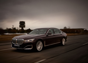 BMW 745 Le 2019 plug-in hybrid (official)