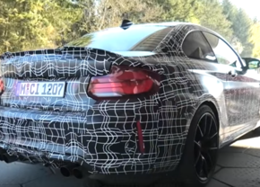BMW M2 CS Spymovie