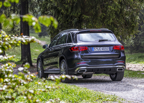Mercedes GLC facelift rijtest 2019