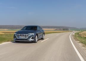 Audi e-tron Sportback 2020 (rijtest)