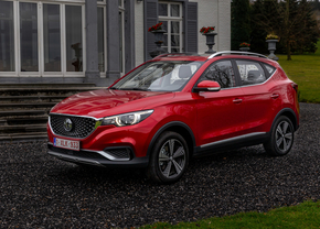 MG ZS EV Luxury rood (2020) front