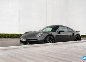Porsche  911 Turbo S 992 2020 voorkant