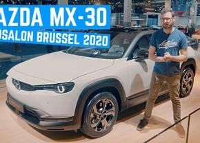 Mazda MX-30 Review Autosalon Brussel 2020 Autofans