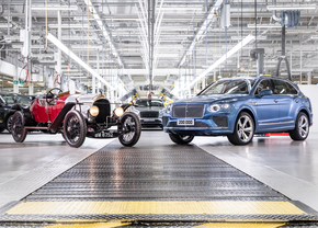 Bentley produces 200000 cars