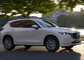 Mazda CX-5 facelift 2022 wit