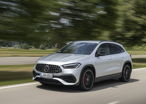 Mercedes-AMG GLA 45 S 2021 test