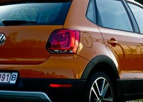 Volkswagen Cross Polo Achterkant