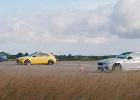 BMW M2 CS vs AMG A45 S vs Audi RS3(tune)