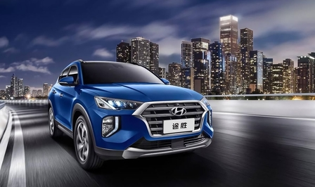 hyundai tucson facelift china 2018