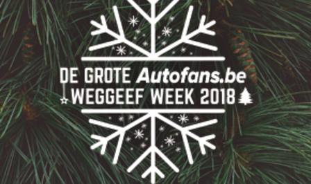 Grote Autofans Weggeef Week 2018