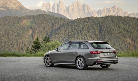 Audi A4 facelift rijtest 2019