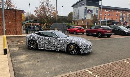 Jaguar F-Type 2020 spied
