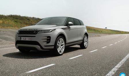 Range Rover Evoque rijtest