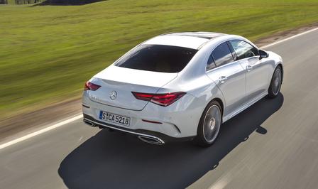 Mercedes CLA rijtest 2019