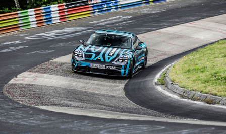 Porsche Tesla Nürburgring