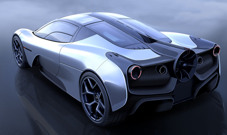 Gordon Murray Automotive T.50 2019