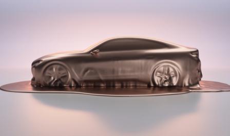 BMW Concept i4 Genève 2020