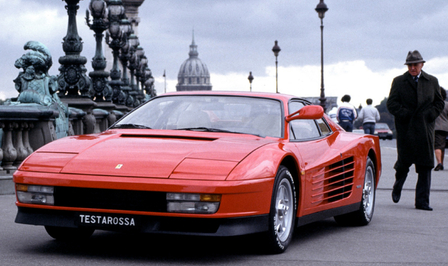 Ferrari Testarossa merknaam
