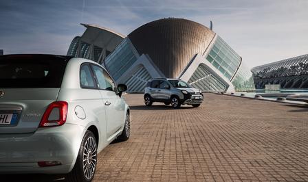 Fiat 500 Panda mild hybrid 2020