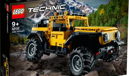 Lego Technic Jeep Wrangler Rubicon (42122)