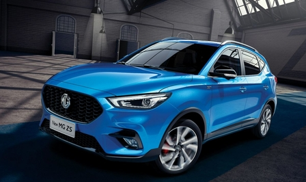 MG ZS 2020 facelift