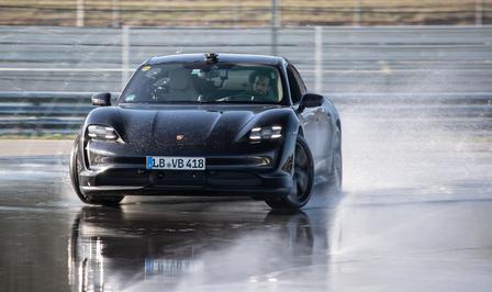 Porsche Taycan drift record