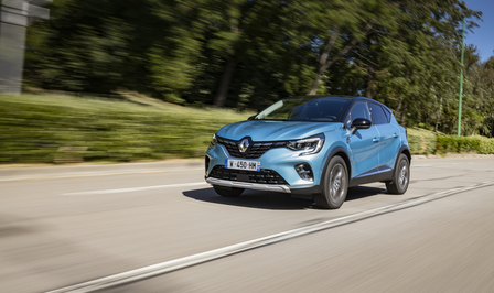 Renault Captur E-Tech Plug-in Hybrid test 2020