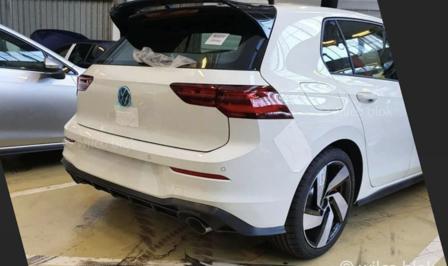Volkswagen Golf GTI 2020 leaked gelekt