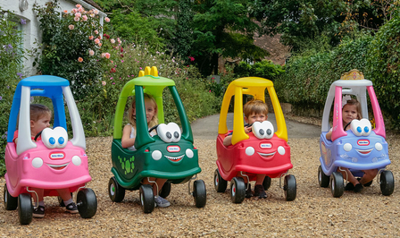 Little Tikes Cozy Coupe Ford Fiesta UK