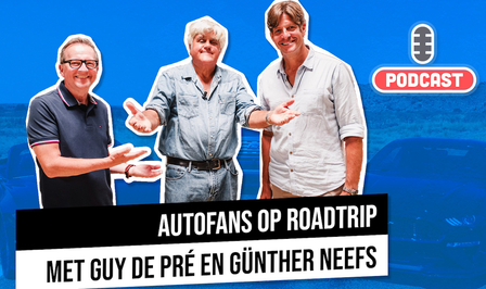 Auto podcast Autofans Guy De Pré Günther Neefs